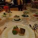 Thai banquet at Sala Rim Naam restaurant, The Mandarin's restaurant across the
