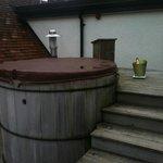 Roof top hot tub - Manaton