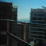 Vue de la chambre au 23eme étage