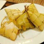 Rice puso - a Cebu pride.