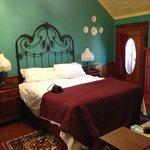 Upstairs bedroom of Harriet Haus #25