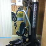broken gym equipment