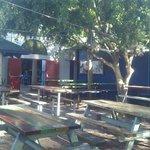 Main beer garden