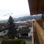 Vista sul paese da balcone