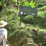 Entrance to Chirripo National Park trail, permit required, o