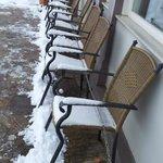 Leider hat es stark geschneit, als wir dort waren :-)