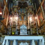 interior da catedral, altar lateral