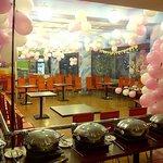 Barbie Theme party decoration @ FOOD COURT