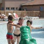 L'espace aquatique pour les enfants....