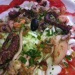 Salade de fruits de mer, pour les amateurs...