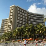 The Sheraton Waikiki taken on Waikiki Beach