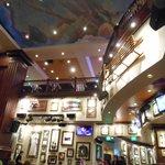 The interior @Hard Rock