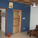 Interior of Honeymoon One Bedroom Chalet