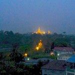 Pagoda at dawn