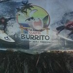 Surfin Burrito Sign