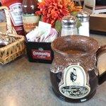 Coffee mugs (great design helps keep coffee hot)