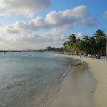 Der Strand am Nachmittag