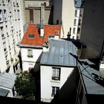 A charming view of Parisian rooftops from my window