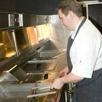 Chef Shane hard at work !!!
