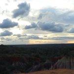 tramonto a Marafa