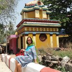 Однео из строенией храмового комплекса, которому более 2000 лет