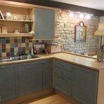 The Granary Cottage Kitchen/Dinning Room