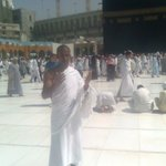 At the Kaaba Masha Allah!