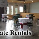 Corporate Rentals - Host your next Event with us!