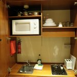 Kitchen in a cupboard!