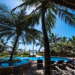 La piscina di Villa Dida
