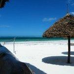 La spiaggia di Villa Dida