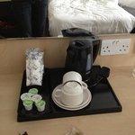 cafe y te en la habitacion