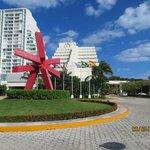 Entrada do Park Royal Cancun