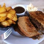 The Incredible Beef Dipping Sandwich