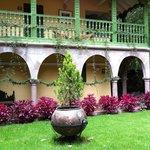 Parte de la antigua casa hacienda Yaravilca