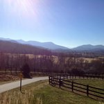 View from Brasstown Valley Resort Entrance