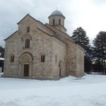 Visoki Dečani is the largest medieval church in the Balkans