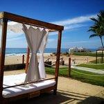 Beach View Lounge Area