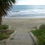 Steps to the Beach from TB Hotel