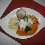 Cebiche!...the best...