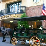 Carriage ride at entrance