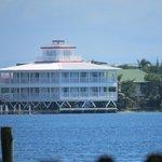 Blick auf das Lighthouse vom anderen Ende der Insel aus