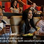 iPic Theaters offers two types of seating: Premium & Premium Plus