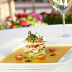 Dungeness Crab Salad with Gazpacho gelee