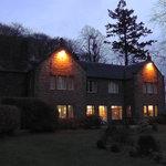 Trigony House at night