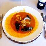 Shellfish & seafood soup