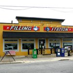 Lewes' Filling Station Restaurant