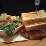 Monster Melt with Ceasar Salad
