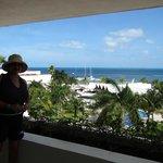 Lo único que valió la pena, la bellísima vista desde la terraza de nuestra suite.