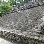 Un vestigio de la cultura Maya